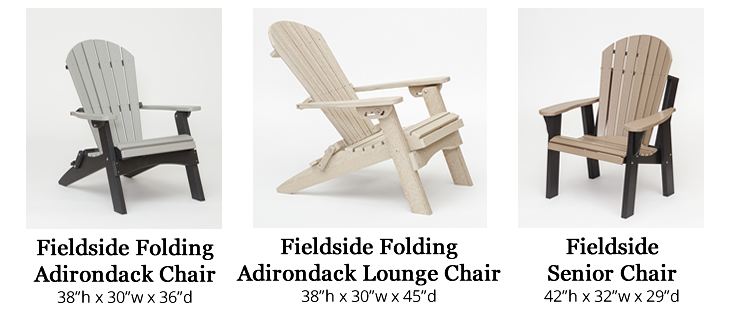 Fieldside Poly Adirondack Chairs